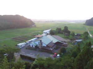 朝の吉野保育園園舎の様子