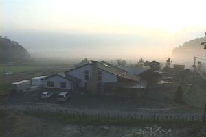 早朝の吉野保育園